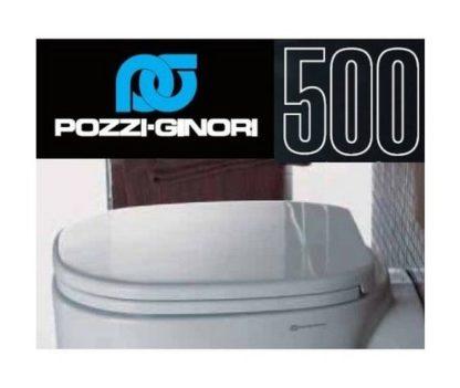 Sedile Pozzi Ginori Serie 500.Sedile Wc Copriwater Per Modello 500 Cinquecento Marca Pozzi Ginori Il Tuo Bagno Online