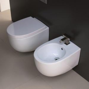 Sedile Wc Copriwater per modello Bull soft close marca Esedra Sdr Ceramiche