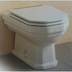 Sedile Wc Copriwater per modello Classic (Absolute) cerniera cromata marca Absolute by Ideal Standard (Copia)