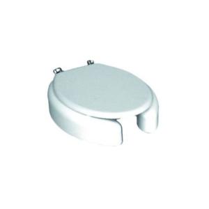 Sedile RIALZATO H.10 Wc Copriwater per modello CLODIA con coperchio