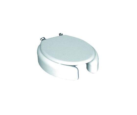 Sedile Rialzato Per Wc.Sedile Rialzato H 10 Wc Copriwater Per Modelli Tondi Con Coperchio