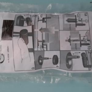 SOLO KIT CERNIERE INOX completo per Copriwater per modello Fiorile sospeso marca Ideal Standard
