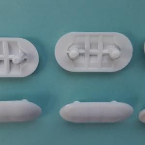 SOLO KIT PARACOLPI completo per Copriwater per modello Diagonal Bianco ideal marca Ideal Standard