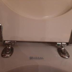 Sedile Wc Copriwater per modello Aquatonda tipo vecchio marca Ideal Standard