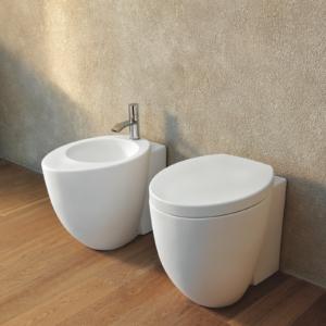 Sedile Wc Copriwater per modello LE GIARE soft close marca Ceramica Cielo originale